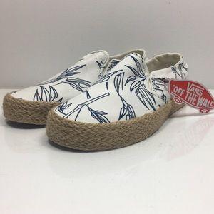 9d482bd6cae8 Vans Shoes - NWT Vans Women s Asher Slip On Sneaker Bamboo